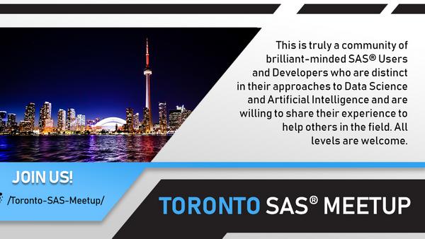 Toronto SAS Meetup